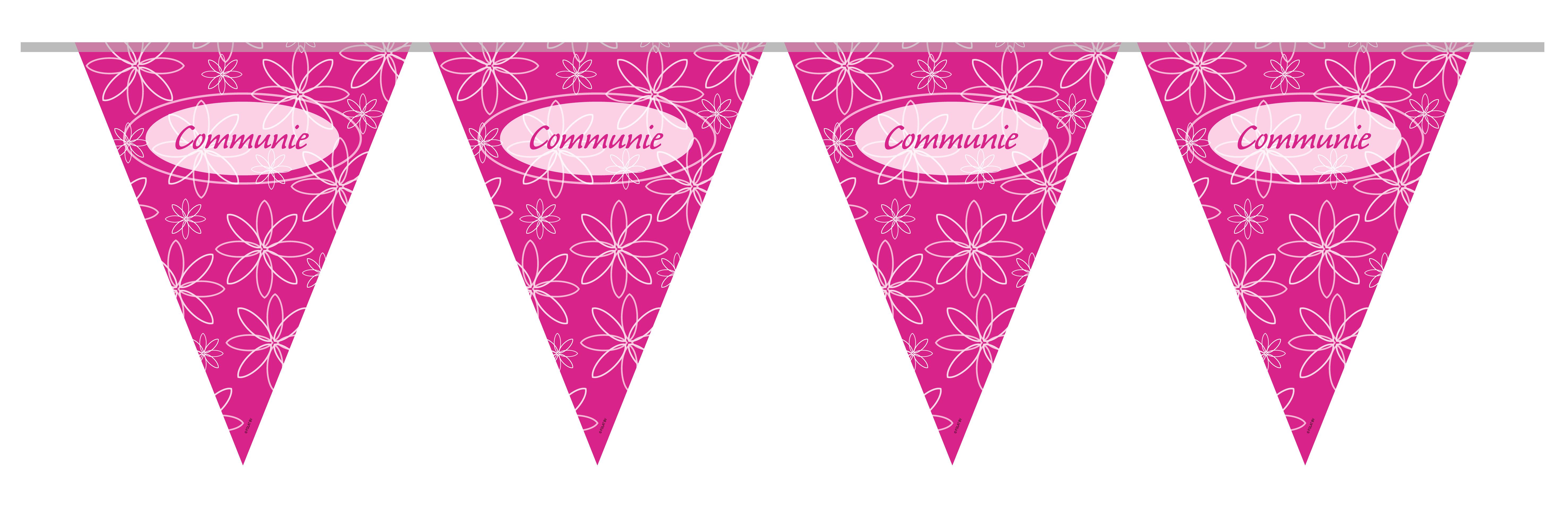Vlaggenlijn Communie Meisje