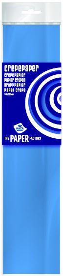 Crêpepapier poly 28 gm²/ 40% / 250x50 middenblauw