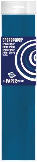 Crêpepapier poly 28 gm²/ 40% / 250x50 donkerblauw