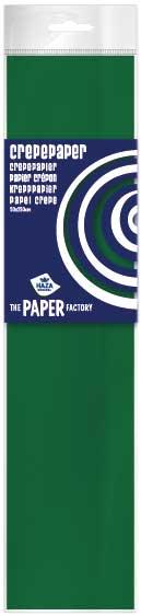 Crêpepapier poly 28 gm²/ 40% / 250x50 kerstgroen