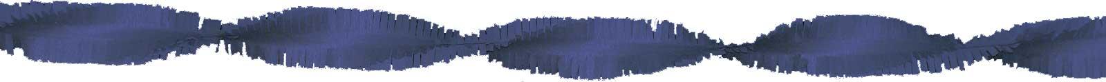 Crepeguirlande 6m marineblauw