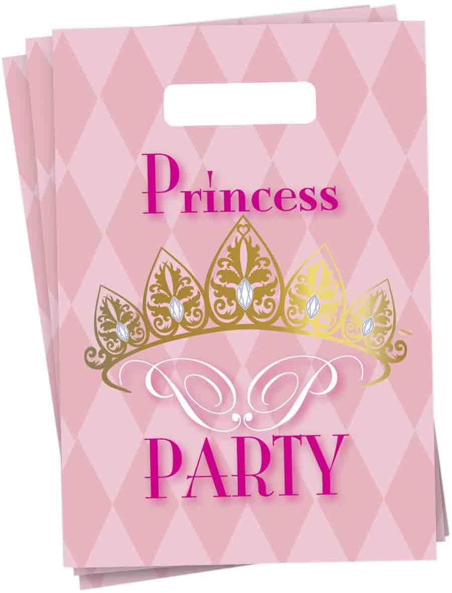 Partybags 6 stuks princess