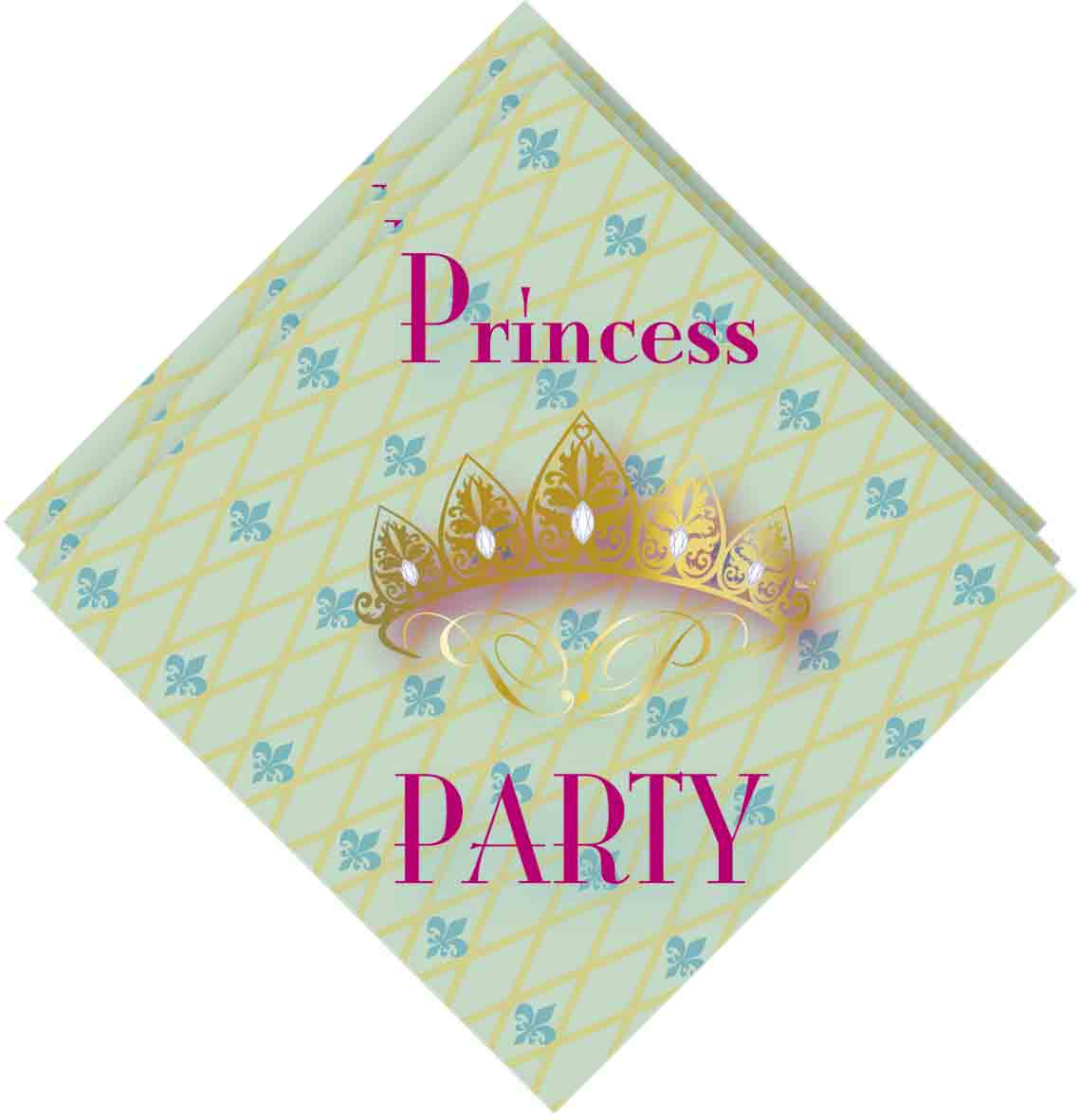 Servetten 33x33cm 20 stuks princes