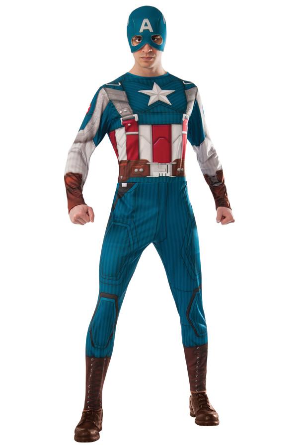 Captain America Retro Suit volwassenen (licentie)