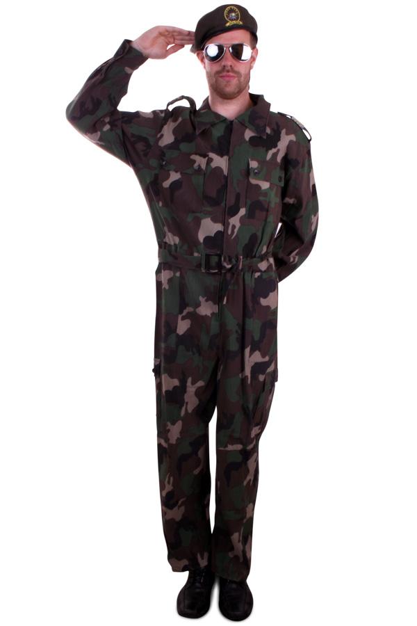 Overall Camouflage volwassenen
