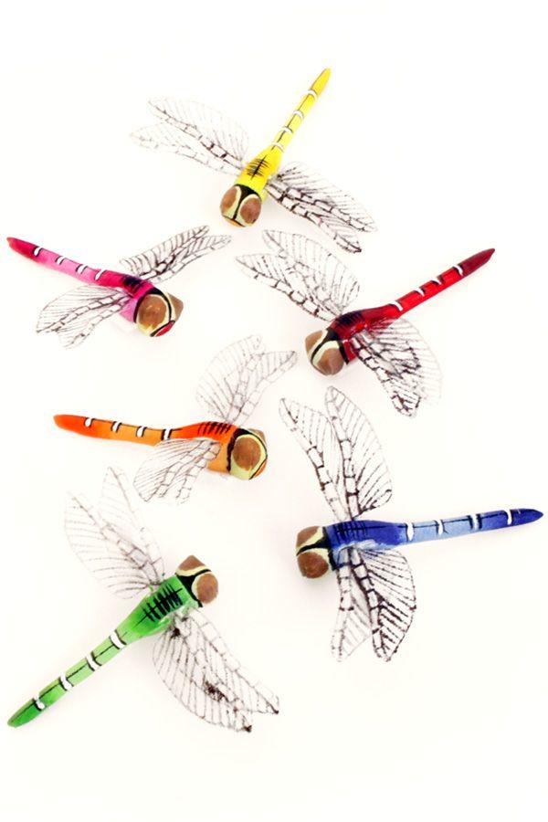 Libelles per stuk 8 cm