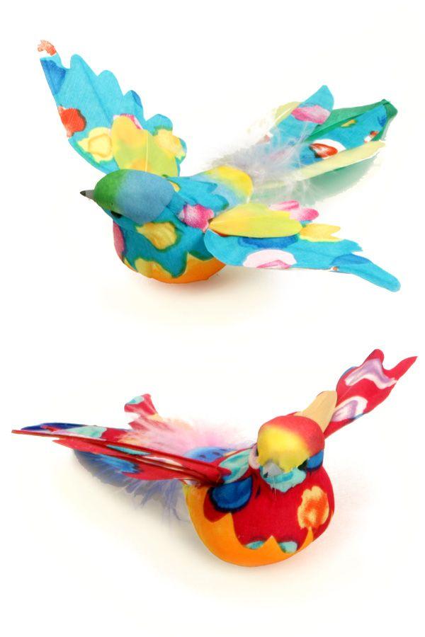 Mus gespreide vleugels multi colour diverse kleuren per stuk 15,5 cm