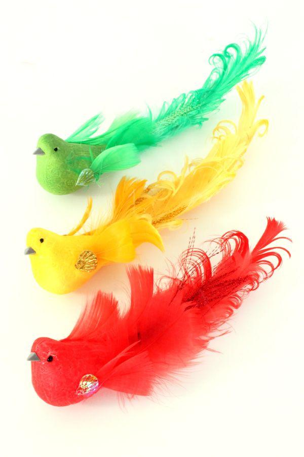Mus rood/geel/groen glitter diverse kleuren per stuk 7,5 cm