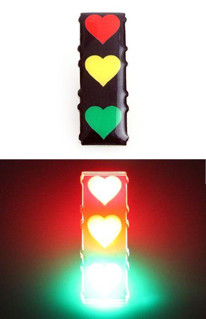 Lightpin verkeerslicht rood/geel/groen