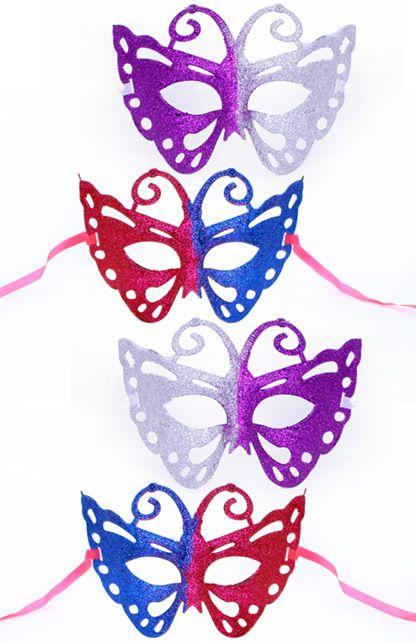 Oogmasker Vlinder diverse kleuren