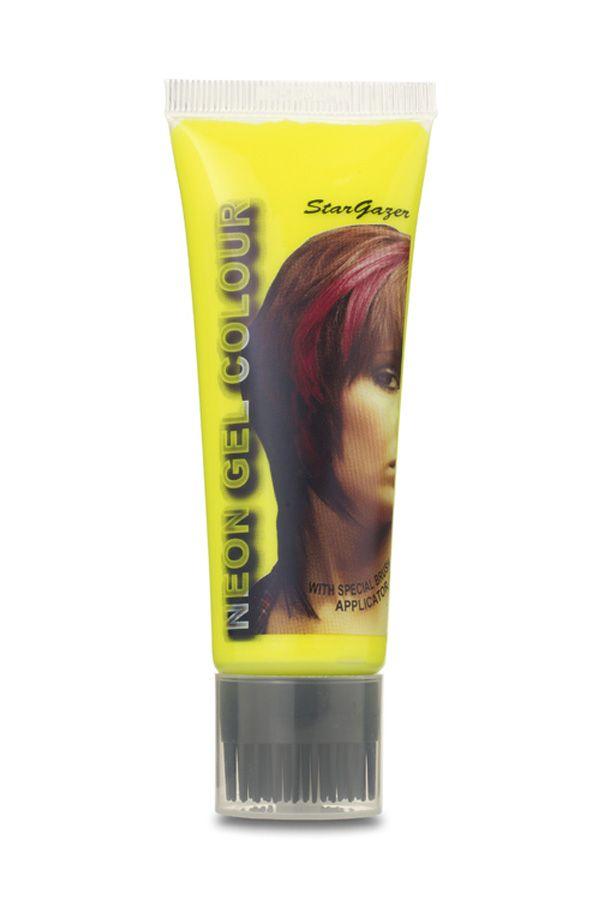 Neon hair gel UV yellow Stargazer