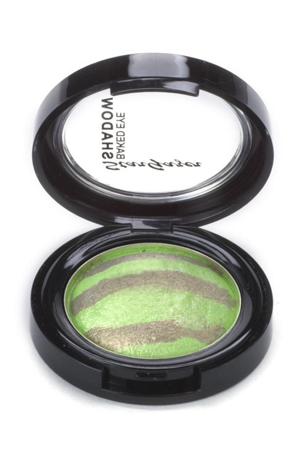 Baked Duo Eye Shadow Green Ecology Stargazer