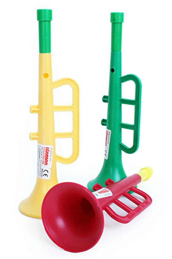 Trompet 22 x 6,5 cm wordt per stuk en per kleur geleverd