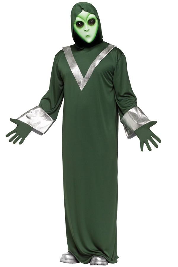 Alien kostuum one size voor volwassenen