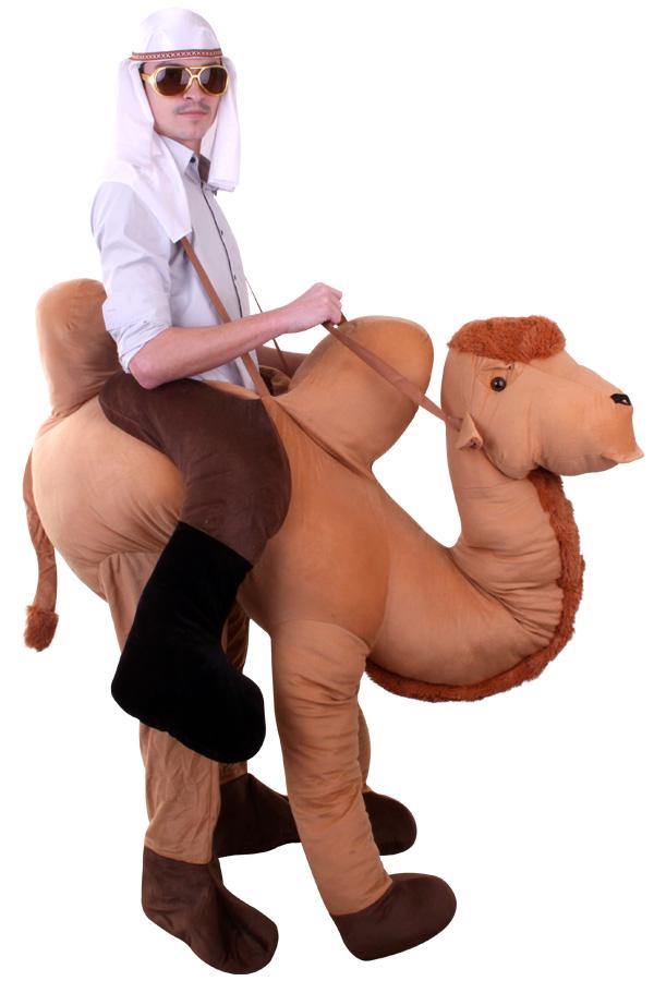 Rijdend op kameel kostuum voor volwassenen