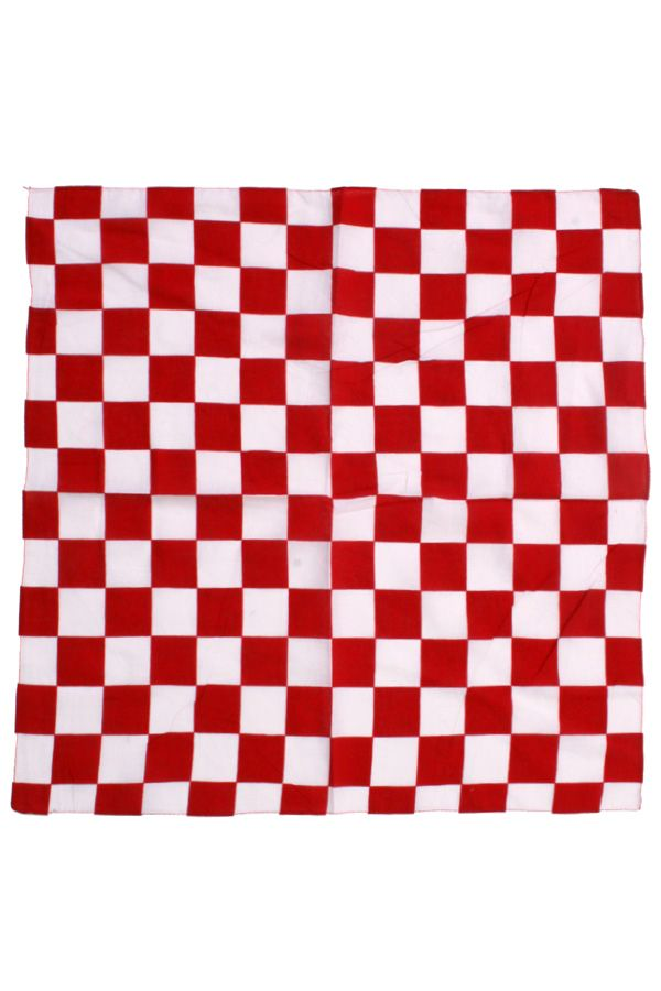 Brabants bont bandana 56x56 cm