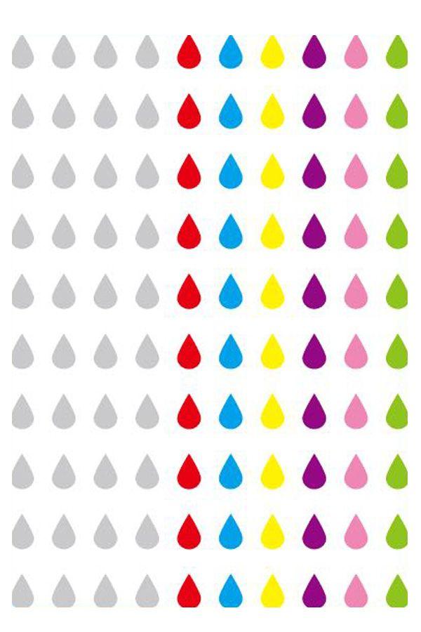 Body jewels 100 st traantjes assortie kleuren