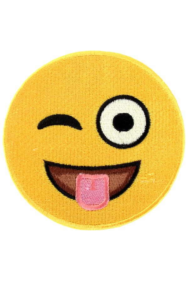 Applicatie SMILEY tong 10x10 cm