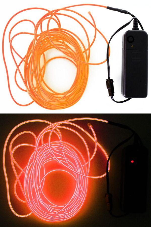 5 mtr ledsnoer verlichting neon oranje