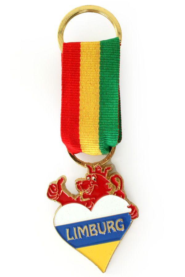 Onderscheiding sleutelhanger limburg met leeuw