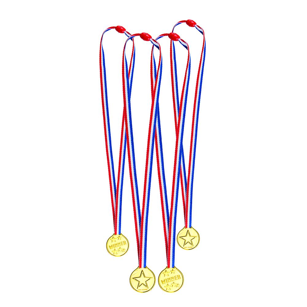 Set van 4 Medailles