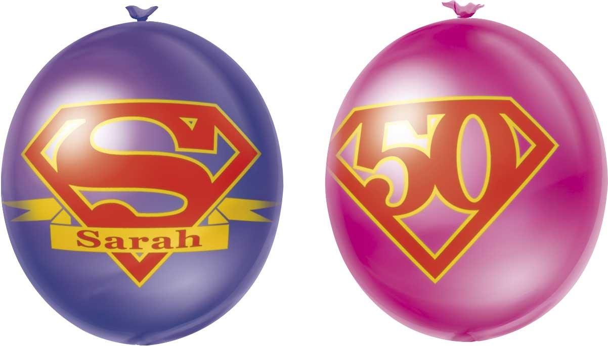Ballon Super Sarah 10 stuks