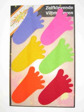 Viltmotief kleine voet