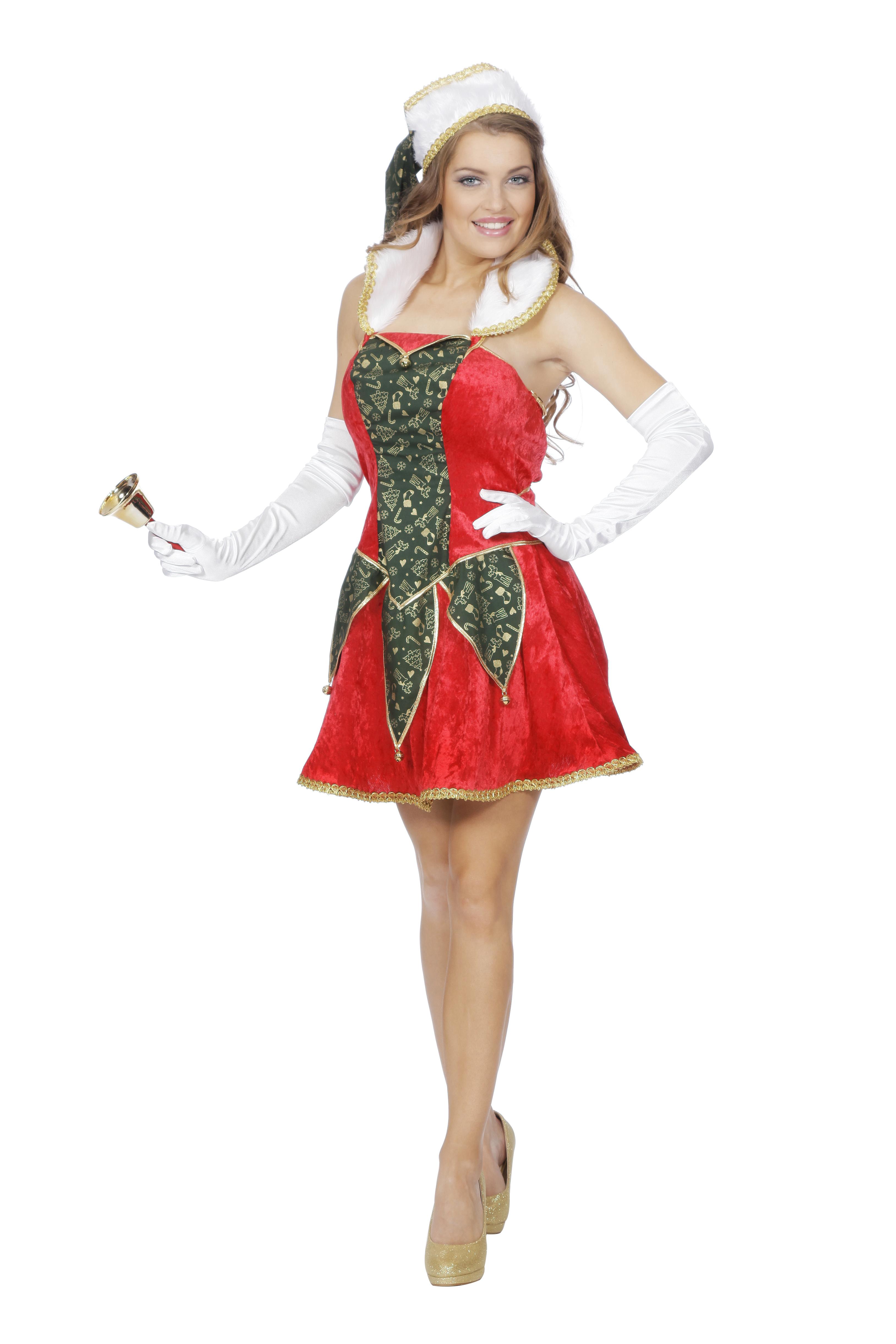 Kerstelf jurk voor dame