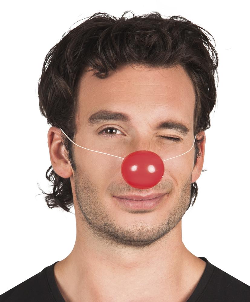 Clownsneus met elastiek 24 stuks