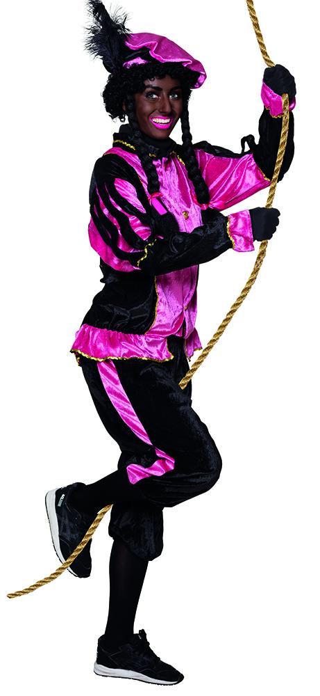 Zwarte Piet roze voor volwassenen
