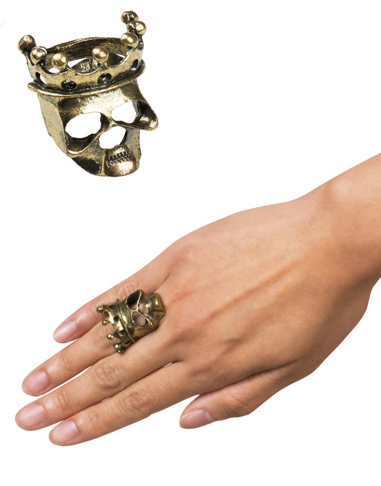 Ring Doodshoofd kroon