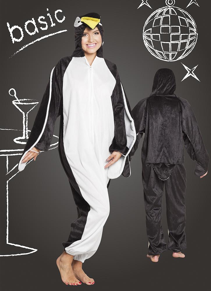 Pinguïn pluche basic kostuum