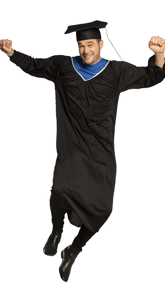 Graduate geslaagd kostuum (M/L)