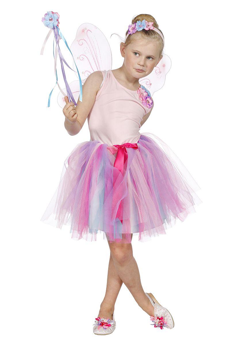 Feetje jurk roze voor meisje