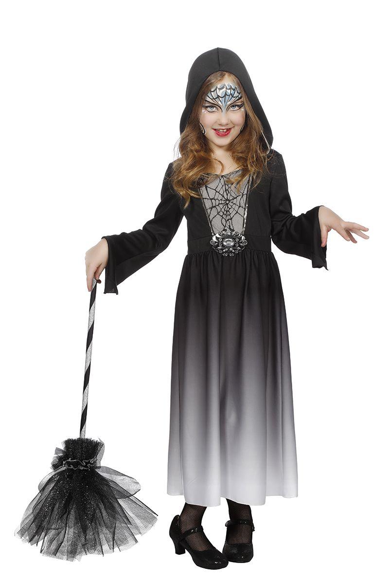 Halloween jurk met capuchon voor meisje
