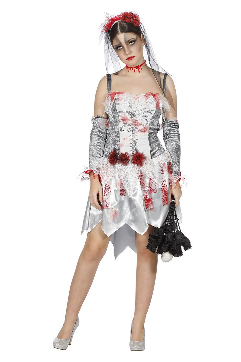 Zombie bruidsjurk Lauren voor dame