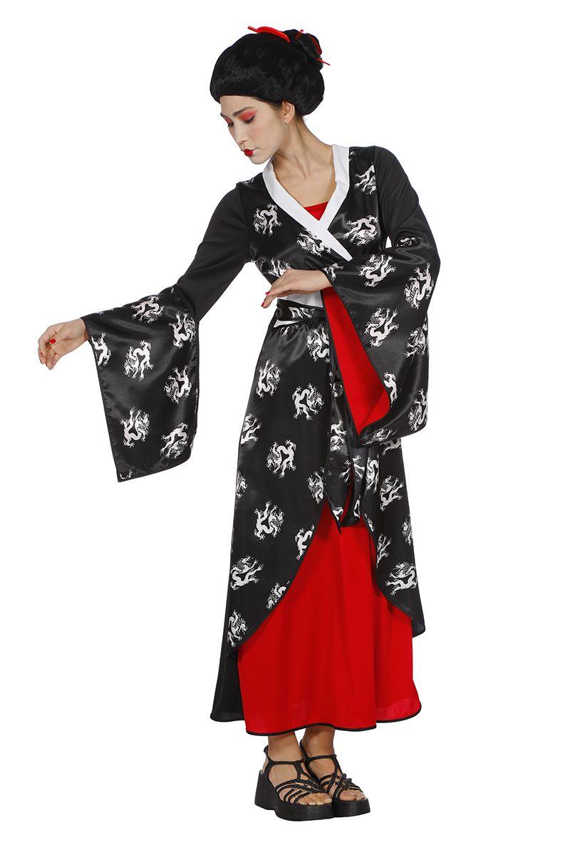 Asian Lady Geisha jurk voor dame