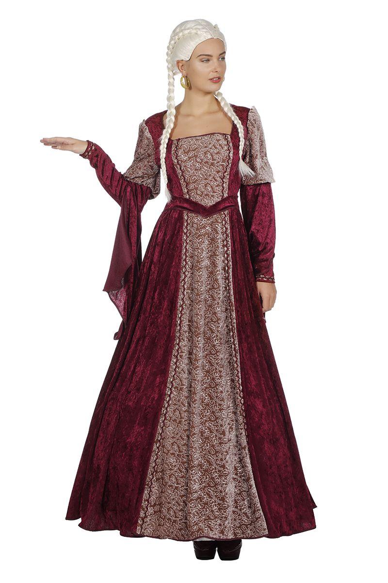 Burcht vrouwe jurk voor dame