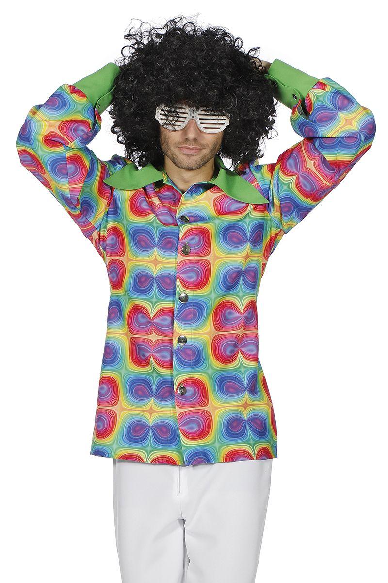 Overhemd Psychedelic voor heer