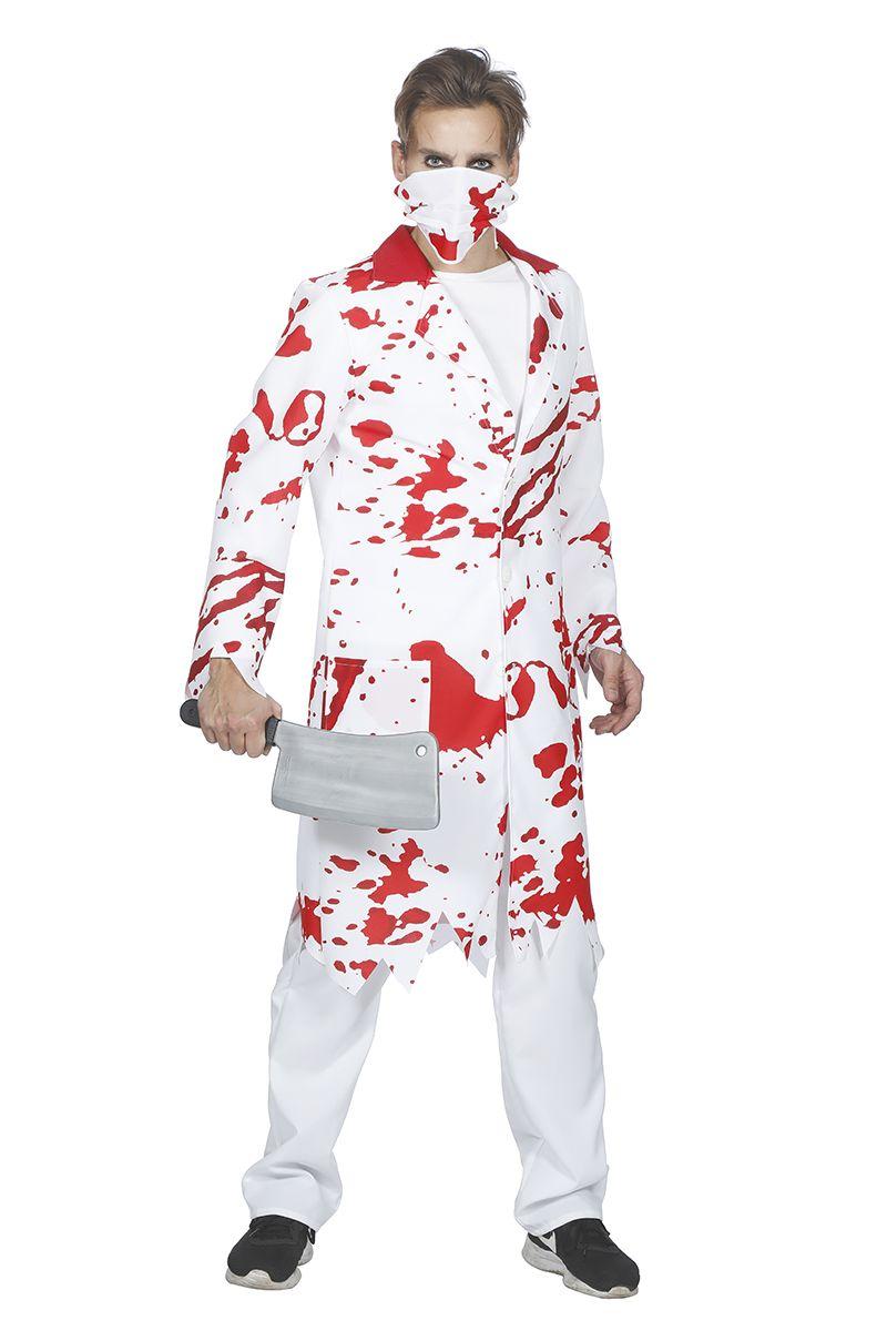 Zombie doktersjas voor heer