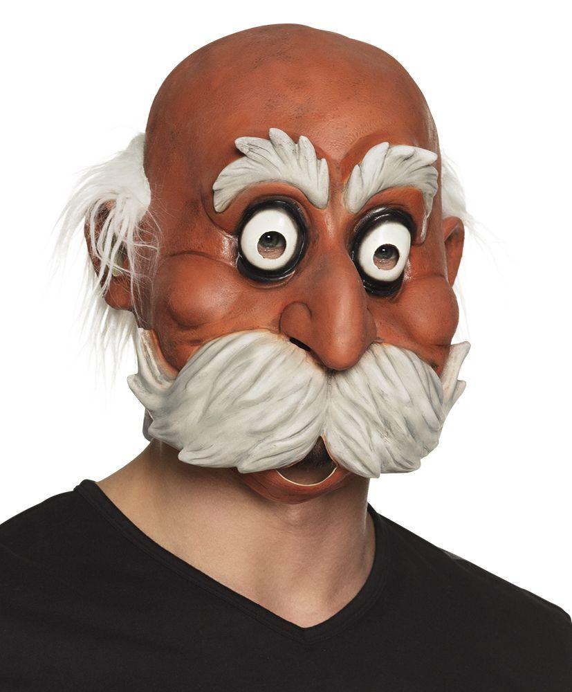 Latex gezichtsmasker Oldie