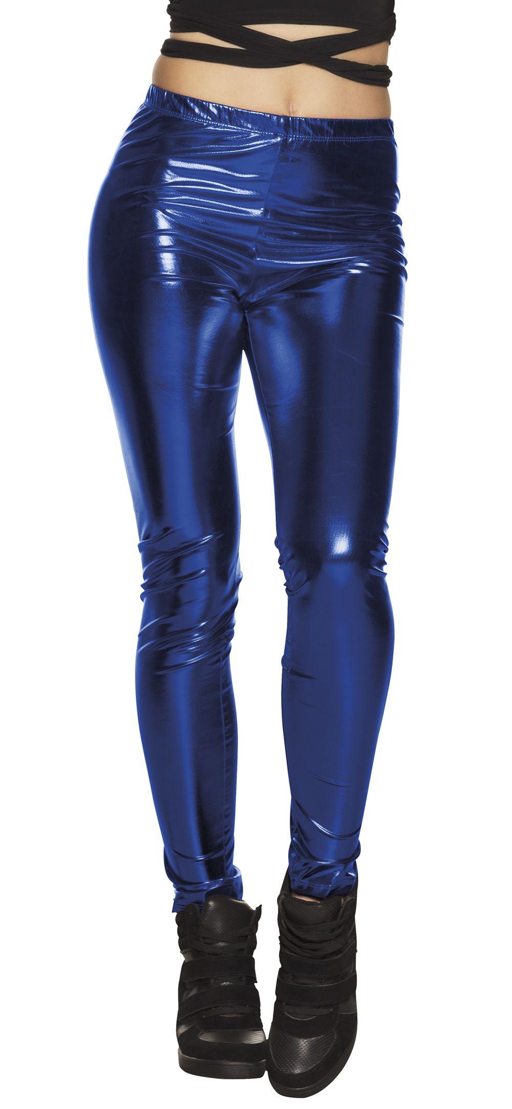Legging Glance blauw stretch one size (M)