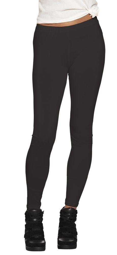 Legging Opaque zwart stretch one size (M)