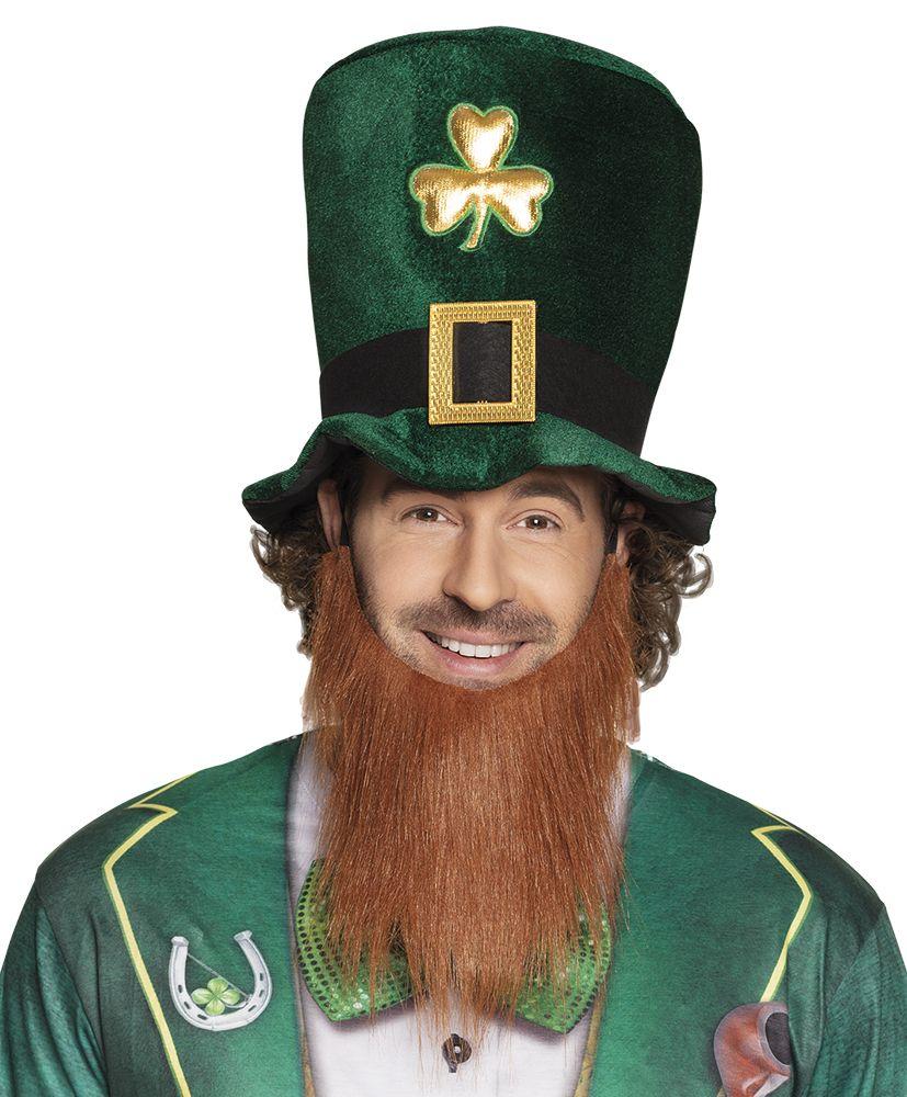 Hoed Leprechaun met baard