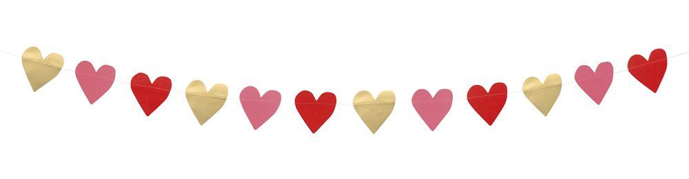 Kartonnen slinger Love (2m)