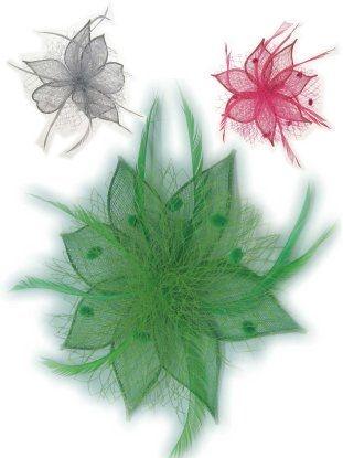Haardeco bloem ster per stuk
