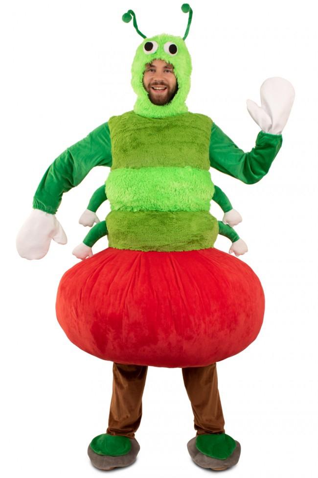 Rups uit appel kostuum one size