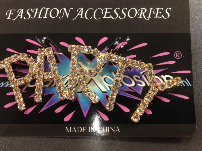 Broche Party strass