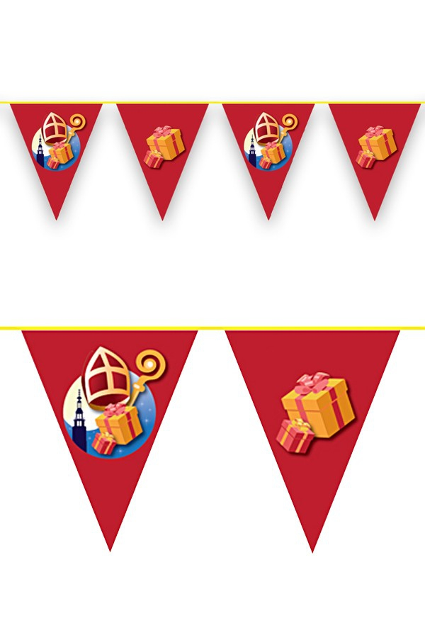 Vlaggenlijn Sinterklaas 6 mtr