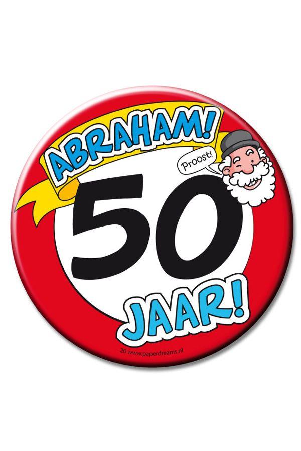 XL Button 50 AbrahamØ 10cm
